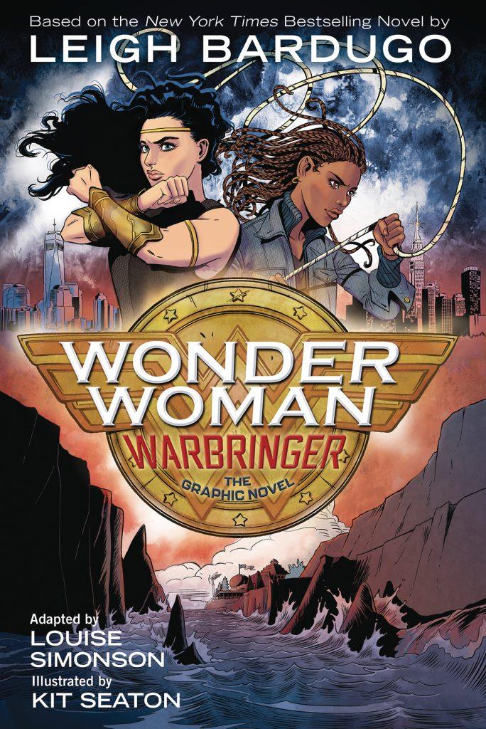 Cover to the OGN Wonder Woman: Warbringer