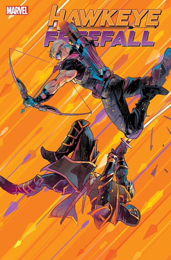 Cover to the comic book Hawkeye: Freefall #1
