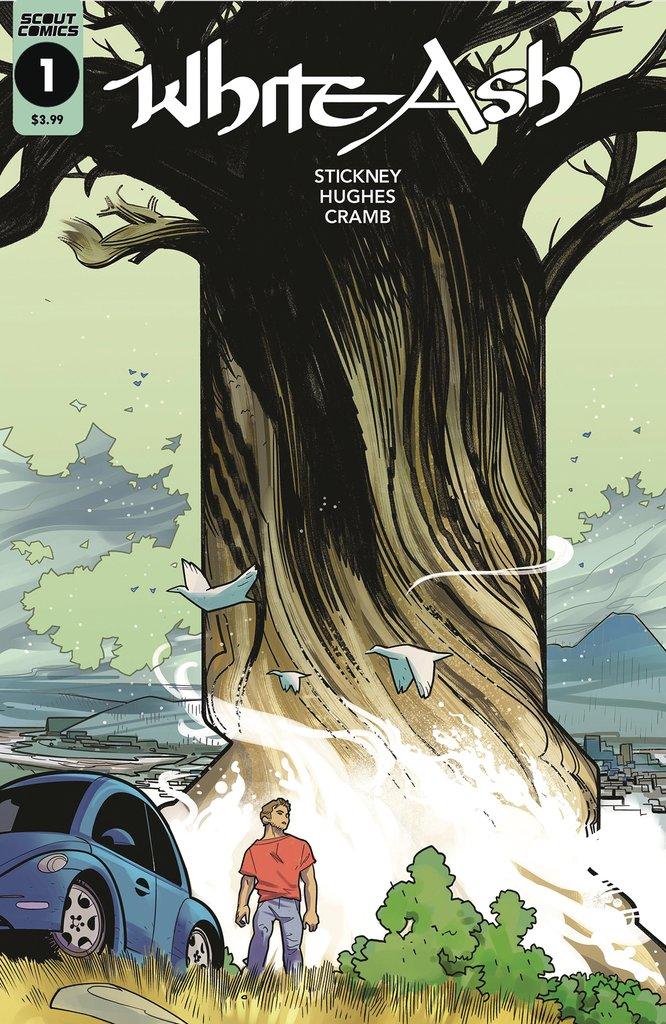 Cover to the comic book White Ash #1