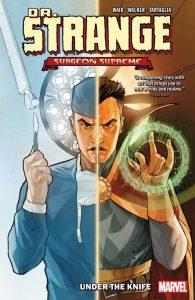Cover to the trade paperback Dr Strange: Surgeon Supreme vol. 1