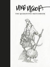 Cover to the book Mike Mignolas Quarantine Sketchbook